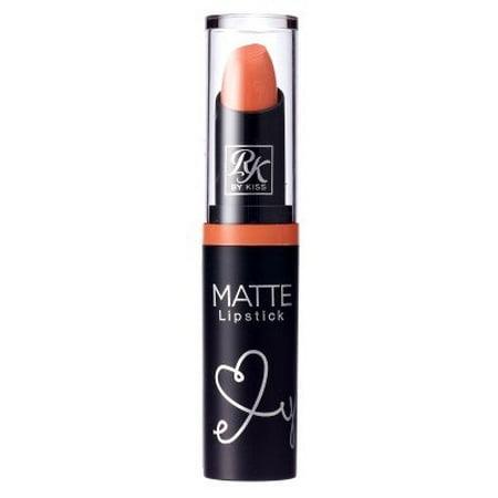 Kiss Ruby Kisses Matte Lipstick Peach Loo (3ml)