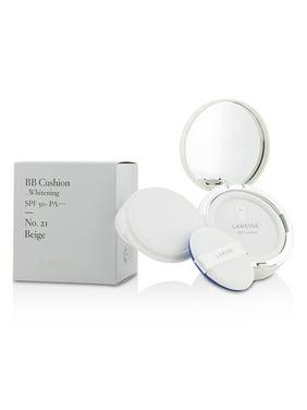 Laneige BB Cushion Whitening SPF 50 - # 21 Beige 2 x 0.5 oz Foundation & Refill