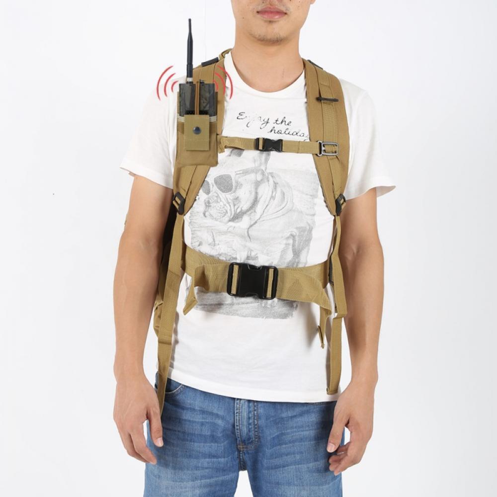 Tactical Pouch Belt Holder for Radio Walkie Talkie Molle Design Case Holster