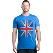Shop4Ever Men's Union Jack British Flag UK Graphic T-shirt