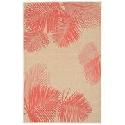 Liora Manne Terrace 1792/17 Palm Coral Area Rug 39 Inches X 59 Inches