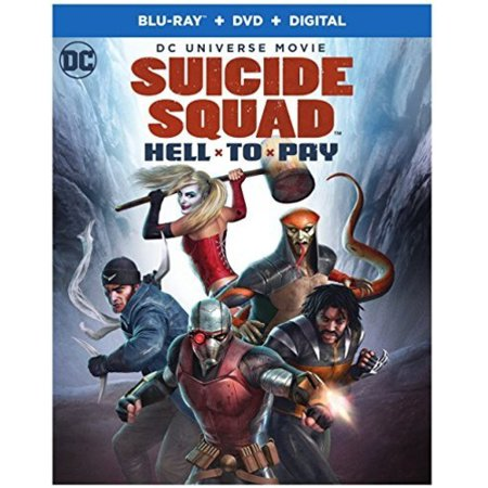 Suicide Squad: Hell to Pay (Blu-ray + DVD) (Suicide Squad Best Makeup)