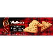 Walkers Pure Butter Shortbread Triangles, 5.3 oz, (Pack of 12)