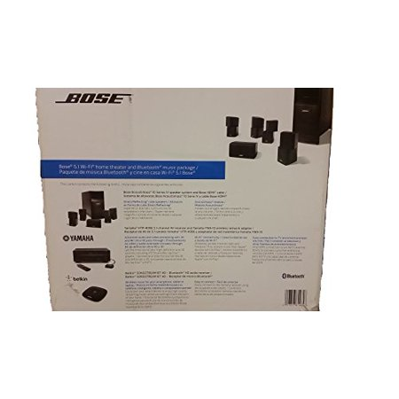 Bose 5.1 Wifi Home Theater and Bluetooth Music Packaged Bundle ...