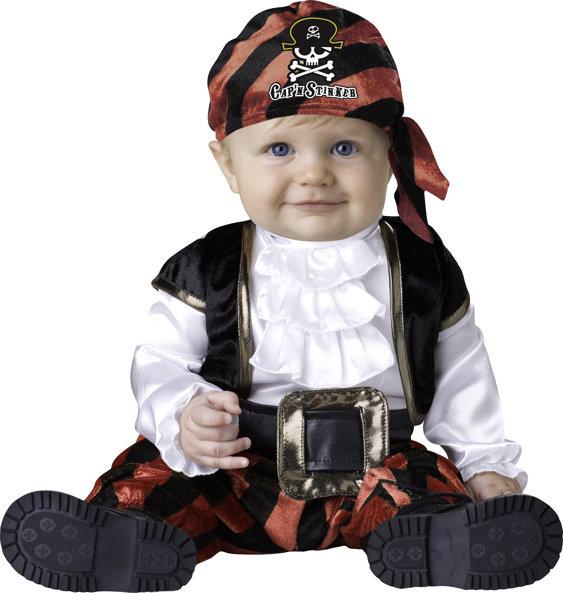 Halloween Infant Pirate Costume Size 12-18Months by Fun World by Fun World, INC