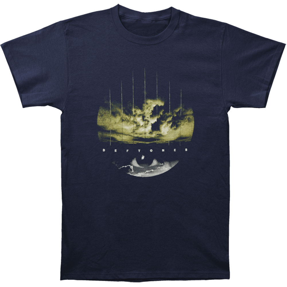Deftones Men's  Storm Eye Slim Fit T-shirt Black