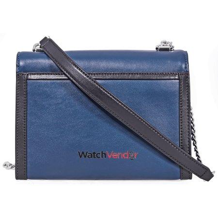 7f4ebaaabe47 Michael Kors Whitney Large Shoulder Bag- Blue/Black - image 1 of 5 ...