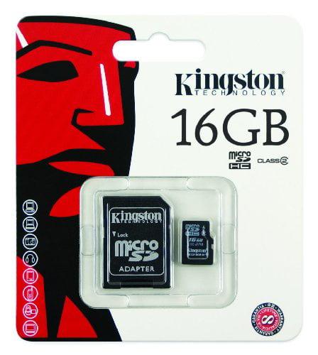 16GB microSDHC Class 4 Flash