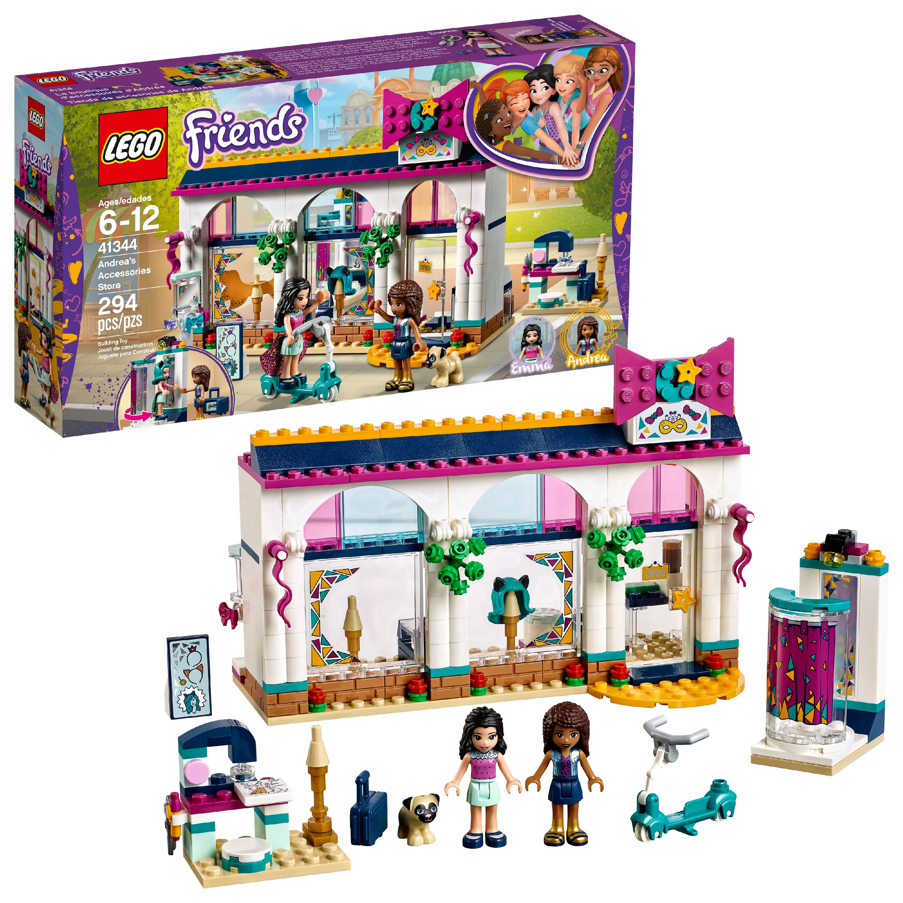 LEGO Friends Andrea's Accessories Store 41344 (294 Pieces)