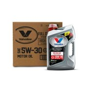 Valvoline Full Synthetic with MaxLife Technology 5W-30 Motor Oil, 5-quarts, (3-pack)