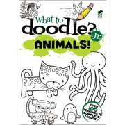 Dover Publications-What To Doodle? Jr. Animals!