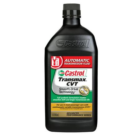 Castrol TRANSMAX CVT Automatic Transmission Fluid, 1 (Best 4r100 Transmission Fluid)