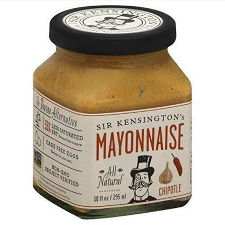 6 Pack        Sir Kensingtons Gourmet Mayonnaise  Chipotle 10Oz