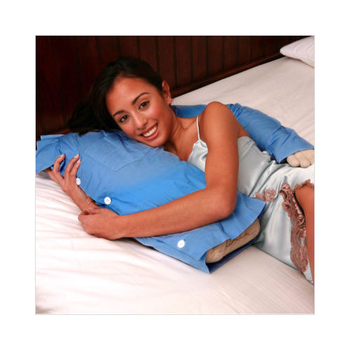 Deluxe Comfort Boyfriend Body Cotton Bed Rest Pillow