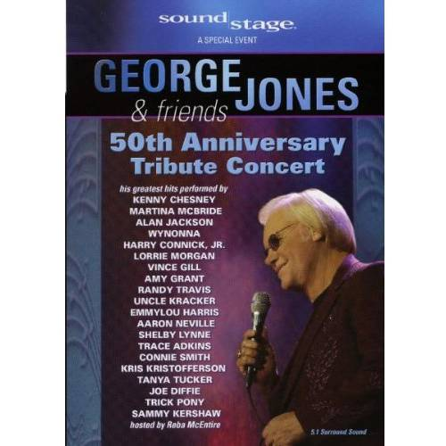 George Jones & Friends: 50th Anniversary Tribute Concert (Music DVD) (Full Frame)