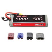 Venom 50C 3S 11.1V 5000mAh LiPO Hardcase Flat Pack Battery with UNI Plug