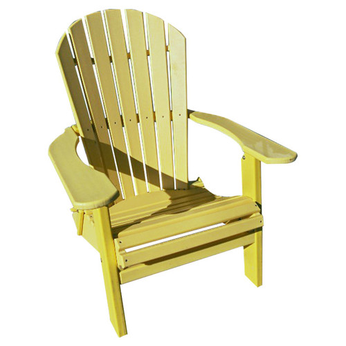 Buyers Choice Phat Tommy Folding Recycled Poly Adirondack Chair