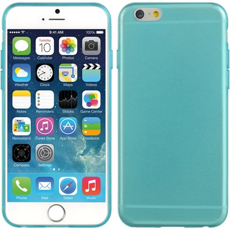 - iPhone 6S case, iPhone 6 Case, by Insten Crystal 5mm Ultra Thin TPU Rubber Skin Gel Case For Apple iPhone 6 / 6s
