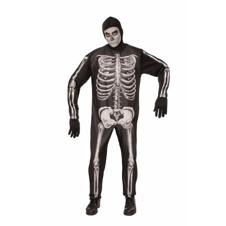 Home Made Skeleton Costume (Halloween Skeleton Adult)