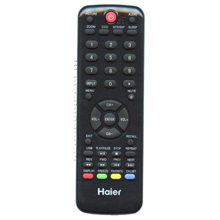 Haier HTRD09B (p/n: 504Q4605101) TV Remote Control (new) ()