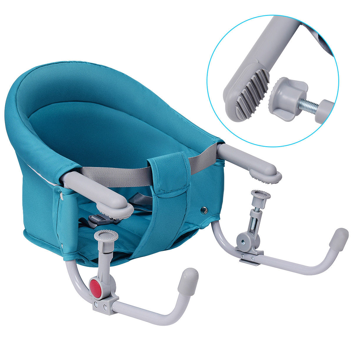 Charmant Gymax Portable Folding Baby Hook On Clip On High Chair Booster Fast Table  Seat Green   Walmart.com