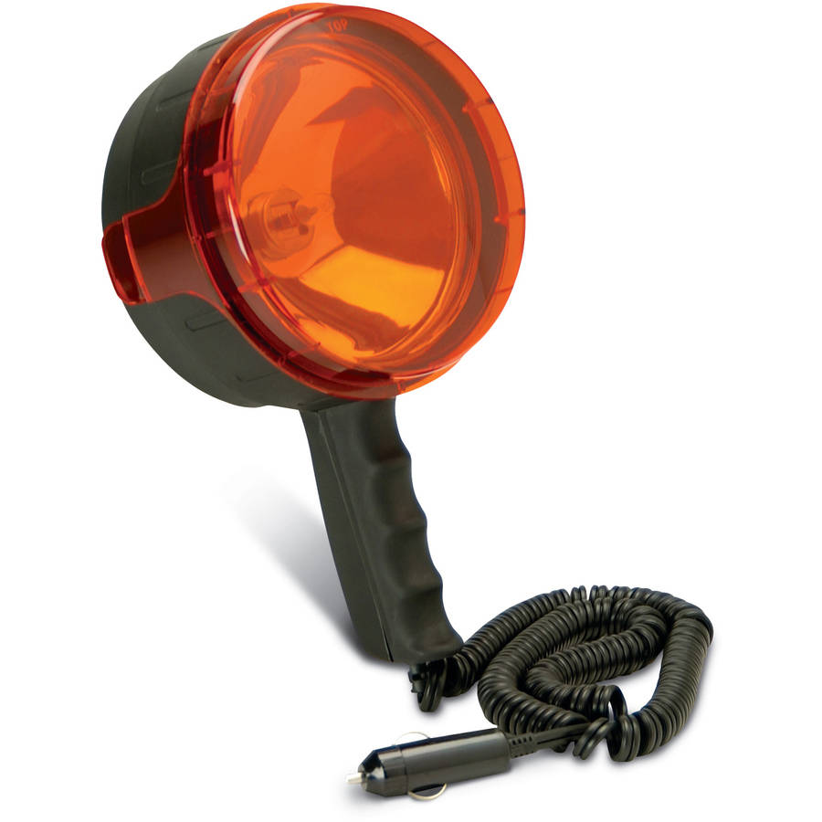 Seeker 3.5 Million Candle Power Direct 12V Search Light, Red Lens