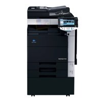 Refurbished Konica Minolta Bizhub 552 A3 Mono Laser Multifunction Copier - 55ppm, A3+/SRA3/A3/A4, Copy, Print, Scan, Email, USB, Auto Duplex, Document Feeder, 1800 x 600 DPI, 2 Trays, Stand