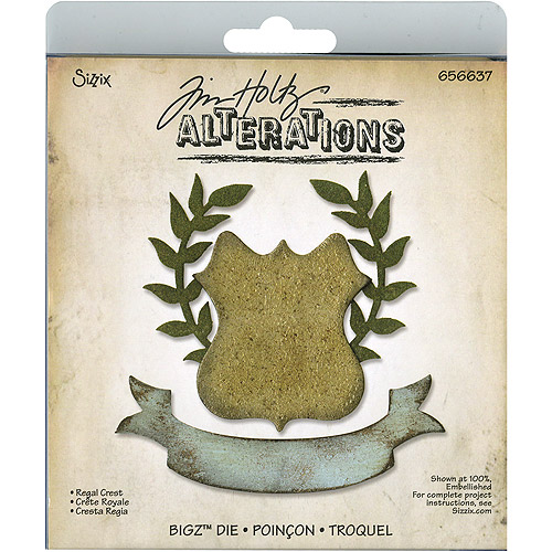 Sizzix Tim Holtz Alterations Collection Bigz Die Regal Crest