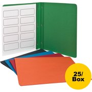 Oxford, OXF52513, Embossed Panel/Border Report Covers, 25 / Box, Assorted