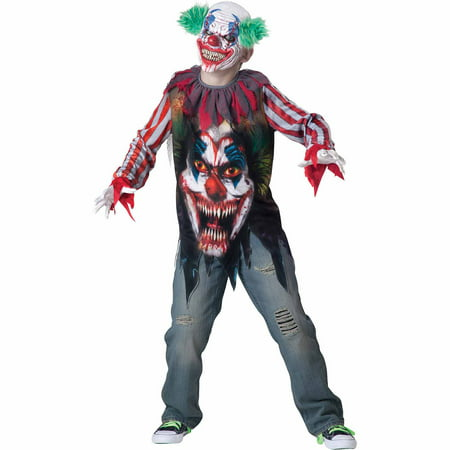 Big Top Terror Child Halloween Costume - Scary Halloween Costumes For Big Dogs
