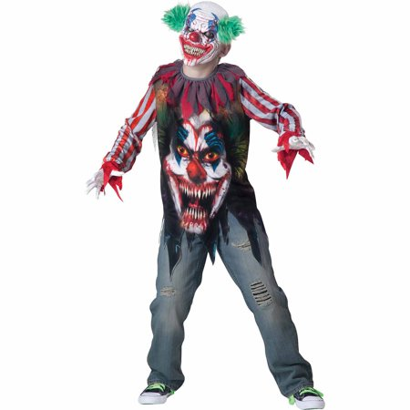 Big Top Terror Child Halloween Costume](Top 10 Best Guy Halloween Costumes)