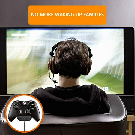 Stereo Headset Adapter Headphone Audio Game Adapter For