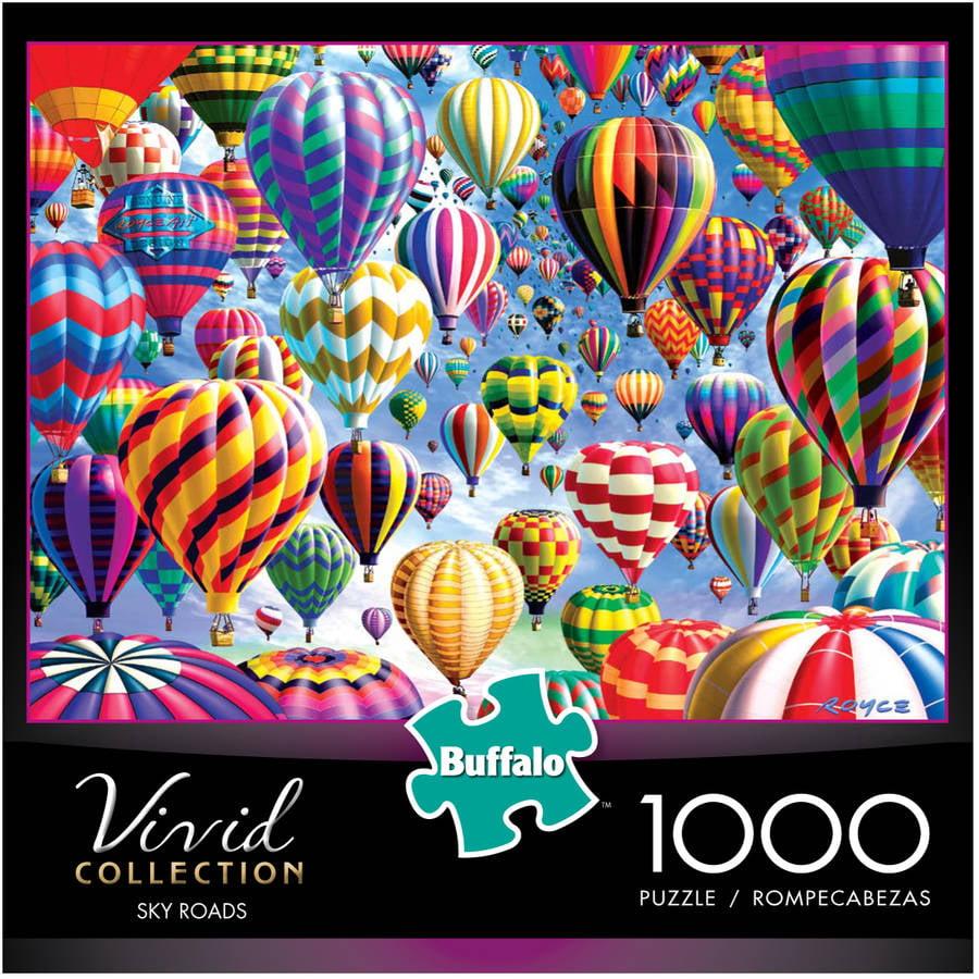Vivid Collection, Sky Roads, 1000 Pieces