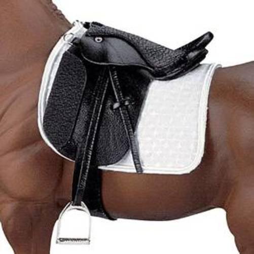 Breyer Traditional Stoneleigh II Dressage Saddle - Black(1:9 Scale)