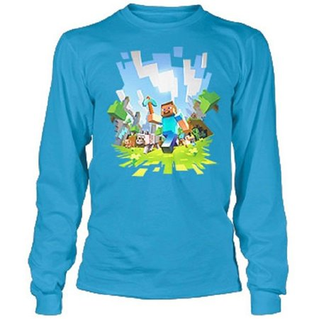 Minecraft - Adventure Youth Long Sleeve - Girls In Minecraft