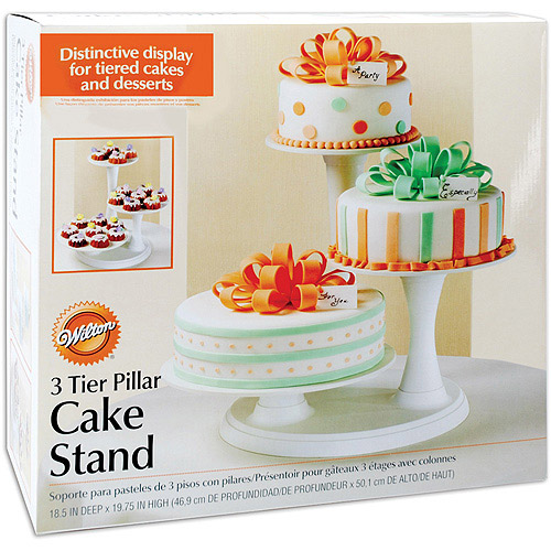 Wilton 3-Tier Pillar Cake Stand 307-350