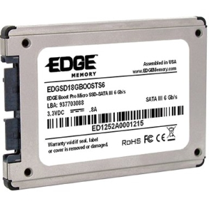 "Edge Tech Corp Boost Pro Micro 120 GB 1.8"" Internal Solid State Drive PE236908"