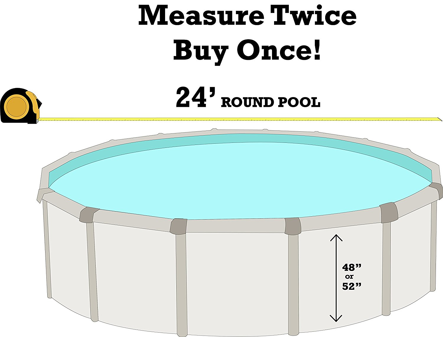 20 Gauge Virgin Vinyl Smartline Boulder Swirl 21-Foot Round Liner 48-to-52-Inch Wall Height Overlap Style Designed for Steel Sided Above-Ground Swimming Pools