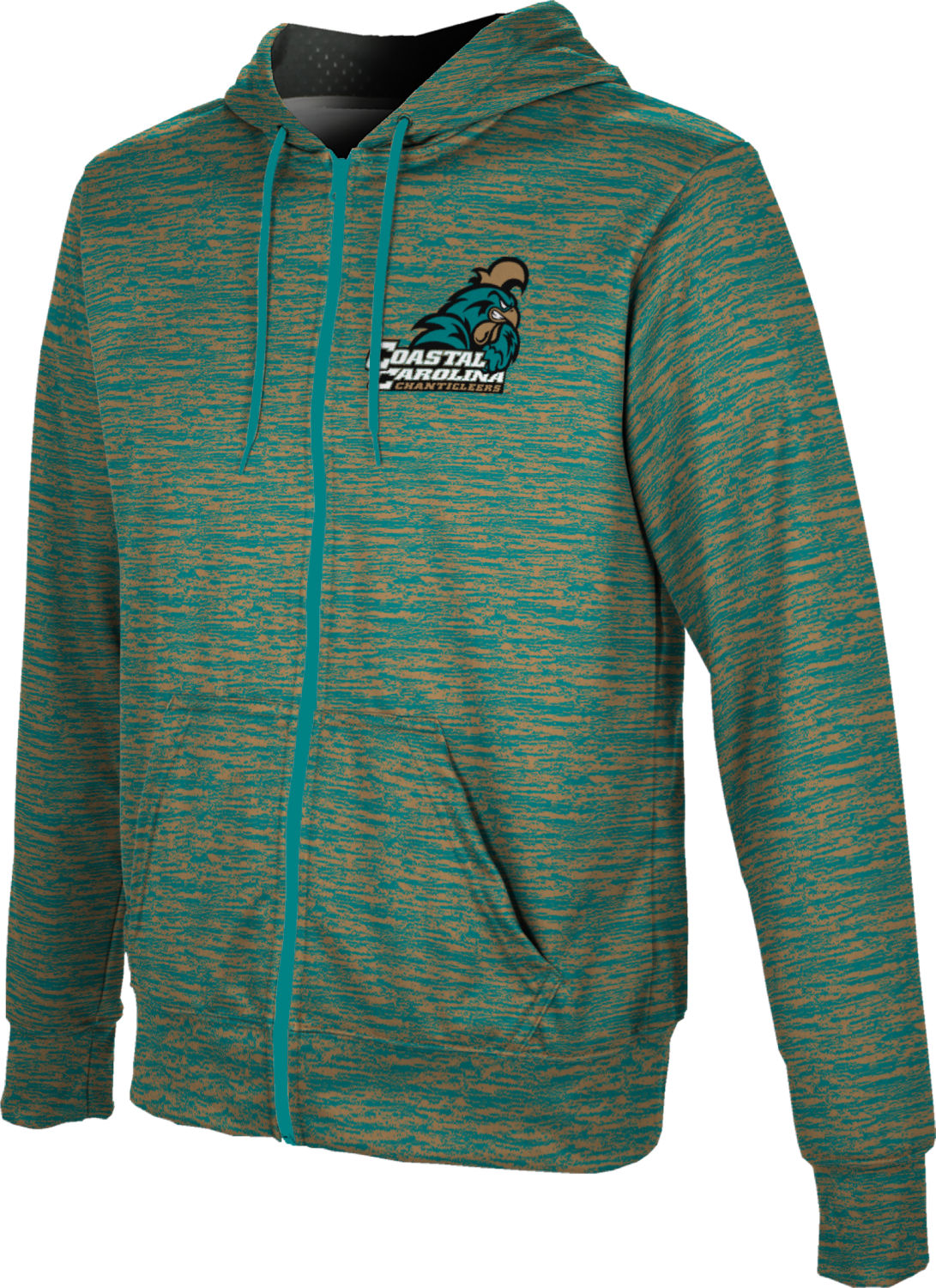 ProSphere Boys' Coastal Carolina University Brushed Fullzip Hoodie