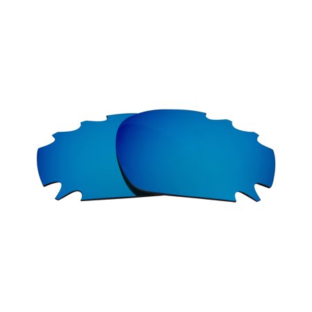 Martini Racing Sunglasses (VENTED RACING JACKET Replacement Lenses Blue by SEEK fits OAKLEY)