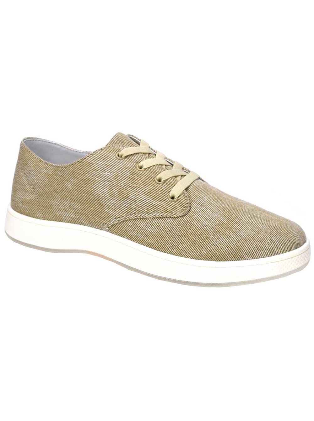 Aureus Men's Dayton Khaki Sneakers 10 M US