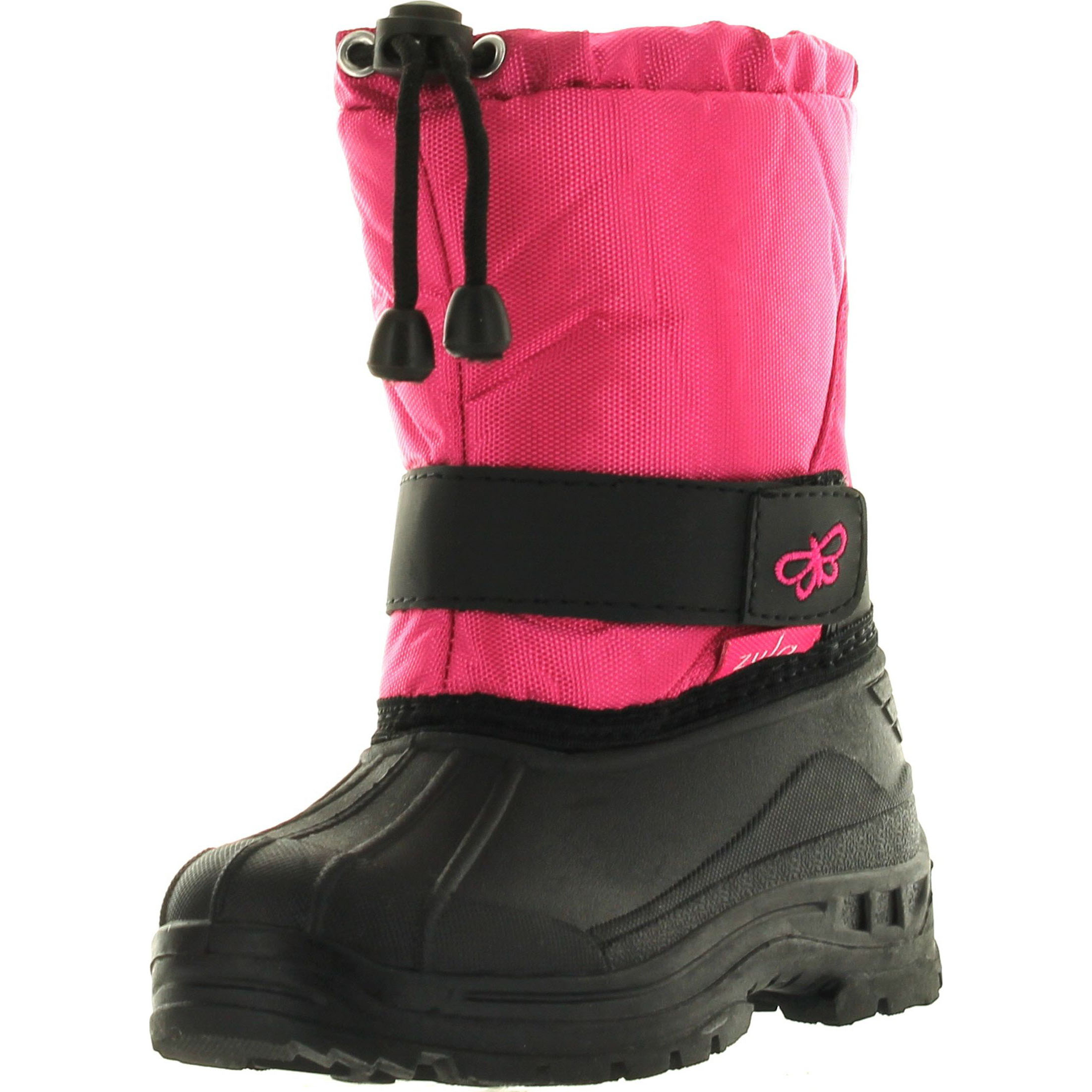 Static Kids BHD-05 Super Cute Butterfly Waterproof Cold Weather Kids Snow Boots by Static Footwear