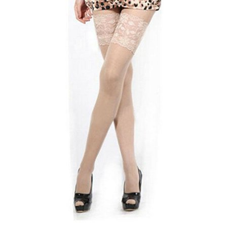 778346f404ab1 Hirigin - Women's Sexy Floral Lace Top Sheer Nightclub Thigh High Over The Knee  Stockings - Walmart.com