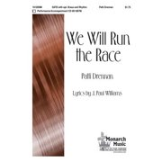 We Will Run the Race-Sac Anthem - SATB,Piano - 3 Tpt, 3 Tbn,Rhythm,P/A CD - Patti Drennan - Sheet Music - 103290M