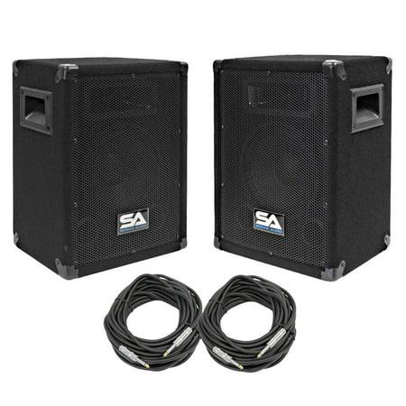 Seismic Audio Pair of 8