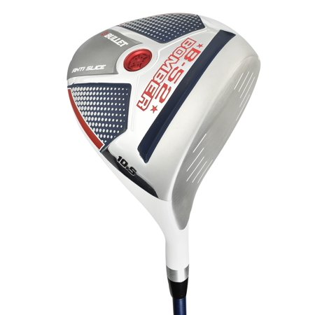 Custom Competition Bullets - BULLET 2018 U.S.A. B52 BOMBER ANTI-SLICE DRIVER *LIMITED EDITION*