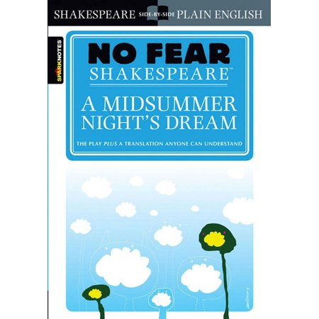 A Midsummer Night's Dream (No Fear Shakespeare) (Study Guide) (Costumes For Midsummer Night's Dream Shakespeare)