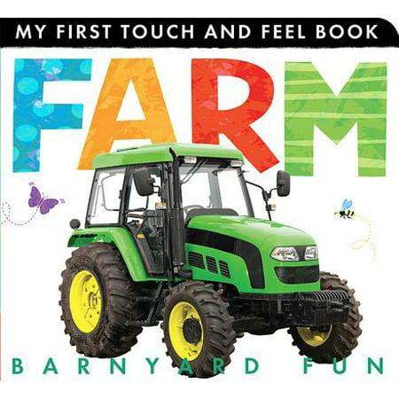 Farm Barnyard Fun (Board Book) - Fun Halloween Touch And Feel