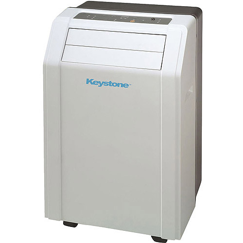 "Keystone KSTAP12A 12,000-BTU 115V Room Portable Air Conditioner with ""Follow Me"" LCD Remote Control"