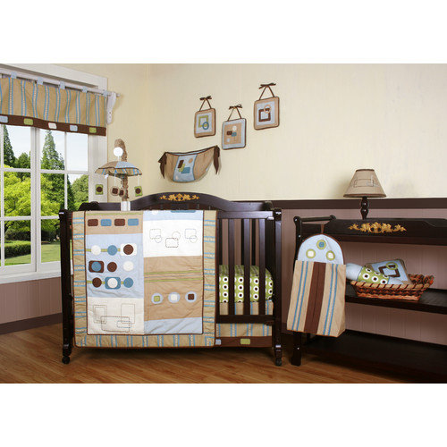 Geenny Boutique Baby Boy Artist 13 Piece Crib Bedding Set